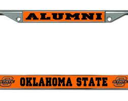 sdsu alumni license plate san diego state alumni chrome license plate frame