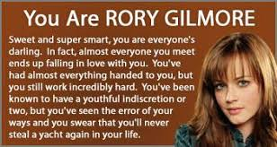 Gilmore Girls Meme - rory gilmore girls personality quiz result gilmore girls