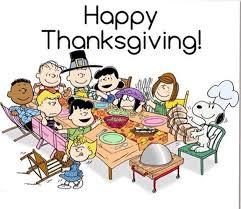 happy thanksgiving peanuts thanksgiving