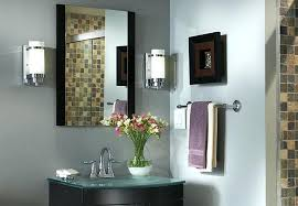 bathroom light sconces fixtures projects bathroom light sconces fixtures 1 light dark bronze plug in