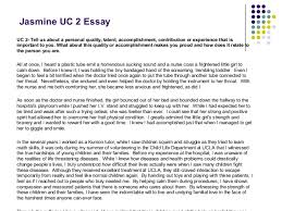 personal quality essay of ca essay advice for studentsd