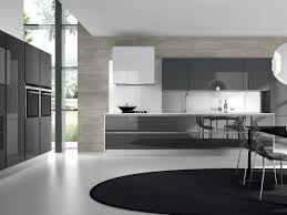 Glass Cabinet Kitchen Modern Grey Kitchen Cabinets Outofhome