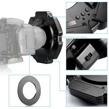 neewer macro ring led light neewer r 160 160 pieces 5600k 10w mini led macro ring light 6