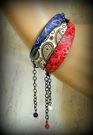 bandana wristband diy bandana bracelets by trinkets in bloom bandanas bracelets