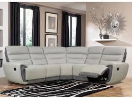 canape angle microfibre gris canapé angle relax en cuir de vachette 2 coloris cosmy