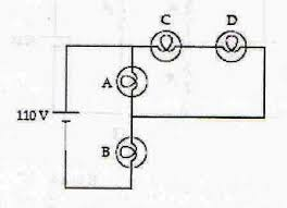 which light bulb is the brightest solved the circuit below contains 4 light bulbs the emf