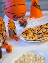 basketball party ideas throw an inexpensive basketball party daily dish recipes