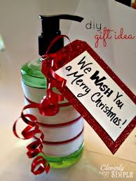 christmas hostess gifts we wash you a merry christmas diy christmas gift idea simple