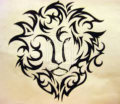 tribal zodiac leo tattoo designs real photo pictures images and