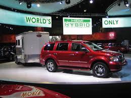 image 2009 dodge durango hybrid launch at 2007 los angeles auto
