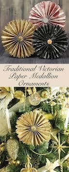 paper fan medallion oranaments the six fix