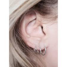 tiny hoop earrings fashionology tiny hoop earrings 10mm bedazzles