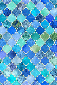 moroccan tile wallpaper lambroa com