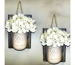 Vase Wall Sconce Jar Wall Decor Farmhouse Decor Livingroom Decor Wall Vase