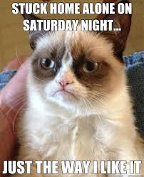 Saturday Night Meme - home on a friday night meme on best of the funny meme