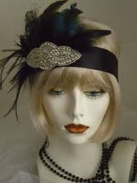 flapper headband diy great gatsby cake topper collection