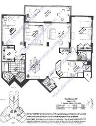 Skyline Brickell Floor Plans One Tequesta Point Condo Floor Plans