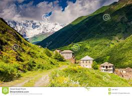 Caucasus Mountains On World Map by Mountain Landscape Royalty Free Stock Photography Image 34978637