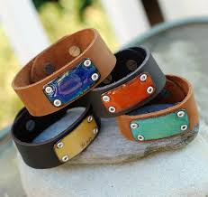 leather jewelry cuff bracelet images 18 best leather and metal bracelet images leather jpg
