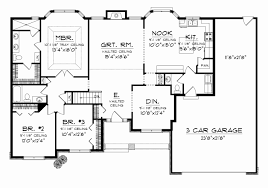 garage house floor plans 4 bedroom 3 car garage house plans house plan