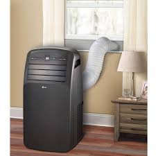 Small Bedroom Air Conditioners Lg Electronics Lp1214 Rb 12 000 Btu Portable Air Conditioner Grey