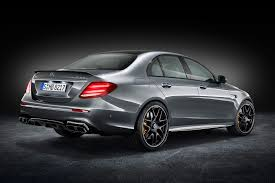 mercedes benz silver lightning suited and boosted 2017 mercedes amg e63 4matic revealed by car