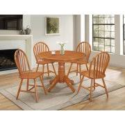 Country Style Dining Table And Chairs Round Dining Table Sets