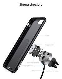 baseus magnet wireless charging case for iphone 7 plus 8 plus