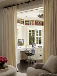 Home Office Curtains Ideas Home Office Curtain Ideas Home Office Traditional With Living Room