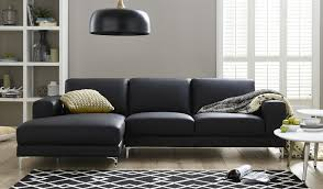 Leather Chaise Lounge Sofa Leather With Chaise Lounge Chaise Sectional Gray