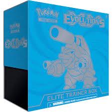 target pokemon x and y black friday pokemon xy 12 evolutions elite trainer box walmart com