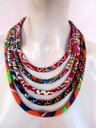 How To Make Bohemian Jewelry - 43 best african fabric jewellery images on pinterest african