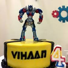 transformers birthday cakes best birthday cakes custom cakes and bakers in bangalore