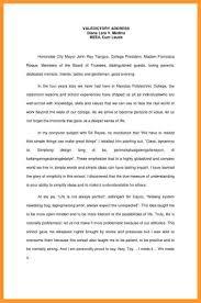 Resume Sample Valedictory Address Tagalog by Valedictorian Speech Template Contegri Com