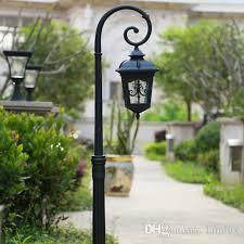 led garden lights lawn ls retro post lighting led