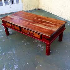 White Distressed Wood Coffee Table Sold Farmhouse Red Coffee Table Shabby Chic Coffee Table