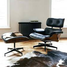 Ikea Chairs Living Room by Eames Inspired Leather Lounge Chair Ottomanlounge Chairs Living