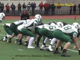 abington varsity football vs whitman hanson thanksgiving day