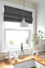 kitchen shades ideas shade valance newton custom interiors within kitchen shades