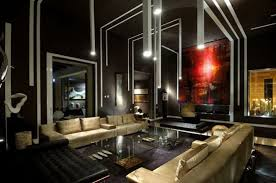 Interesting Luxury House Interior And Corridor Villa Dining With - Luxury house interior design