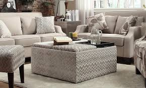 ottomans storage ottoman with reversible tray top benches round