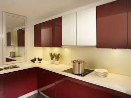 kitchen bright white frosted glass kitchen cabinet door design