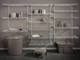 Wall Mount Wire Shelving by Wall Mount Wire Shelves To Use In Your Garage Minimalist Design