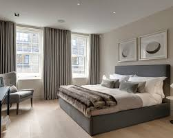 Bedroom With Grey Curtains Decor Impressive Bedroom With Grey Curtains Decor With Curtains Grey