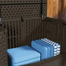 suncast 195 gal backyard oasis vertical deck box deck box