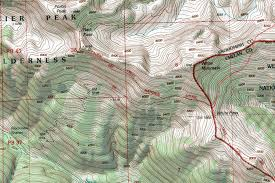 Montana Topographic Map by Glacier Peak Climbing Hiking U0026 Mountaineering Summitpost
