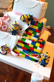 theme wedding cakes minion and lego themed wedding cake cake by zoe s fancy cakes