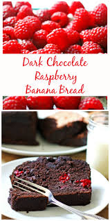 Dark Chocolate Raspberry Brownies by Dark Chocolate Raspberry Banana Bread Pin Jpg