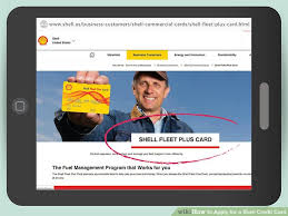 3 ways to apply for a shell credit card wikihow