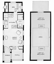 Large Tiny House Plans by Cabin Style House Plan 2 Beds 1 Baths 480 Sqft Plan 23 Tiny House